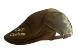 Carp Couture Cheesecutter flat cap Brown/Khaki_