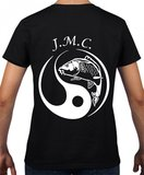 J.M.C. logo T-shirt  Black/M green/Grey_