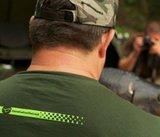 Korda Design T-shirt   Kleur Rifle Green_