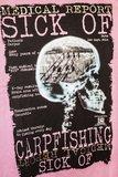 Hotspot design Sick of Carpfishing T-shirt_