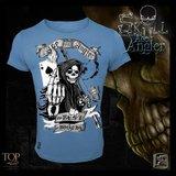 Hotspot design  ACE ANGLER skull T-shirt_