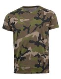 Mens Camouflage T-shirt_