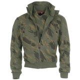 Diem Collar Jacket Camouflage_