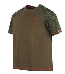 Diem Raglan T-shirt GREEN/CAMO