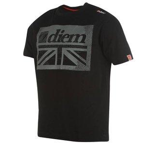 Diem Hallmark T-shirt Black