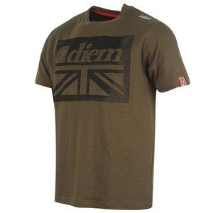 Diem Hallmark T-shirt GREEN