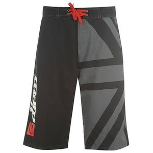 Diem Mens Board Short Black/Grey