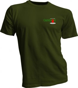 CarpSpots T-shirt  military green