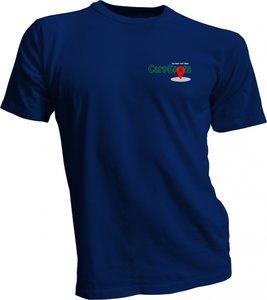CarpSpots T-shirt navy
