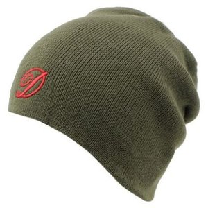 Diem Knitted Embroidered beanie (muts)  Green