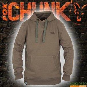 FOX CHUNK Ribbed Hoodie Khaki