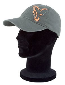FOX Chino distressed orange/green cap