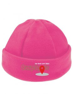 CarpSpots Fleece Beanie Pink