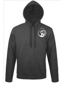 J.M.C. logo hoodie Grey
