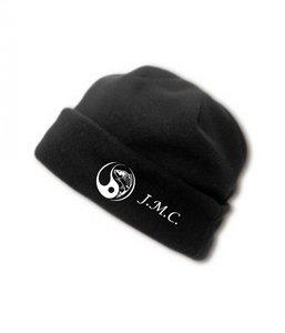 J.M.C. logo  Fleece muts black