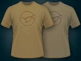 Korda Distressed T-shirt   Kleur Elmwood   ( kleur rechterkant foto )