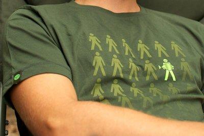 Korda Design T-shirt   Kleur Rifle Green