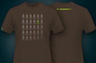 Korda Design T-shirt   Kleur Turkish coffee color