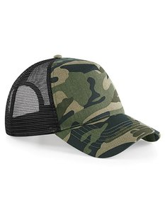 Trucker Cap  Jungle  Camouflage  One size