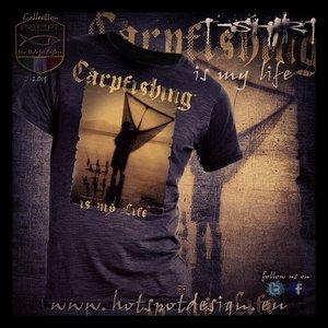 Hotspot design CARPFISHING IS MY LIFE  T-shirt Zwart