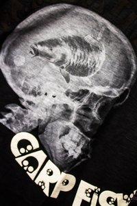 Hotspot design CARPFISHING SKULL T-shirt (BLACK)