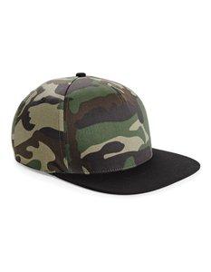 Cap Snapback Black/Camouflage  One size