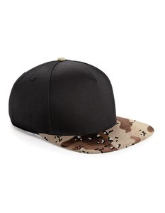 Cap Snapback Black/Desert Camouflage  One size