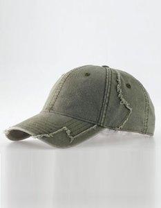 Hurricane Heavy Worn Cap (One size) Olive