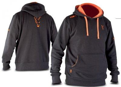 FOX Black & Orange Hoody
