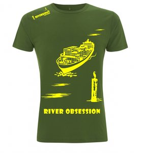 RIVERKINGS River Obsession T-shirt Olive Green
