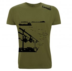 RIVERKINGS  T-shirt  Rodpod  Zwarte print