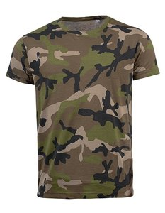 Mens Camouflage T-shirt