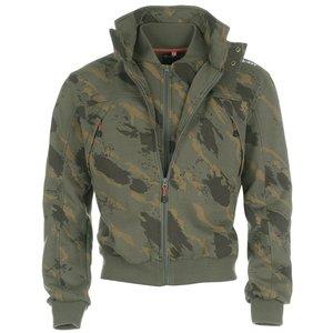 Diem Collar Jacket Camouflage