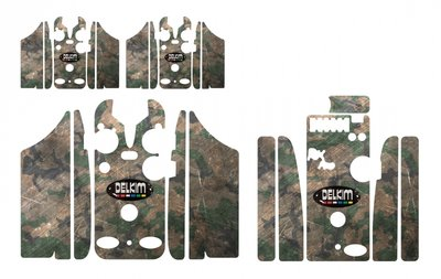 Olive Metal Camouflage Skinz