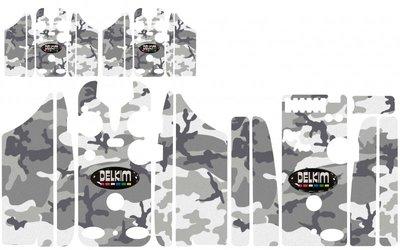 grey Winter Camouflage Skinz