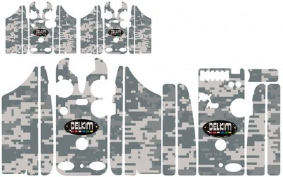 Digital Winter Camouflage Skinz