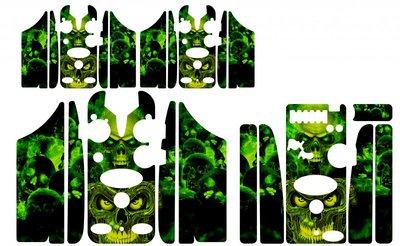 Green skulls Skinz