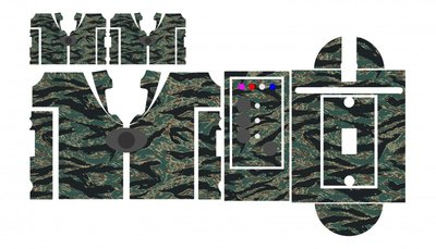 Nash SR1 Vietnam Tiger camouflage skinz