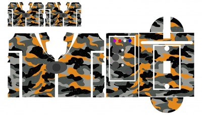 Nash SR1 Color camouflage skinz