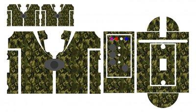 Nash SR1 Commando camouflage skinz