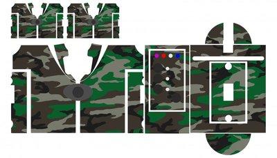 Nash SR1 special forces camouflage skinz