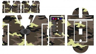 Nash SR1 gorilla camouflage skinz
