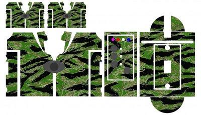 Nash SR1 Nam Tiger camouflage skinz