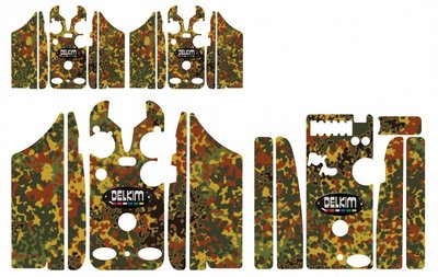 Jungle Flecktarn  Delkim Skinz