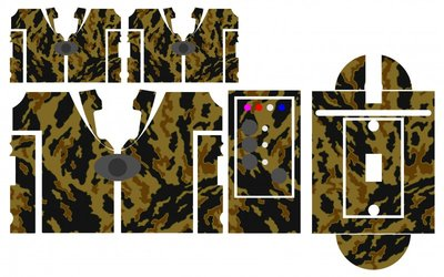 Nash SR1 Earth camouflage skinz