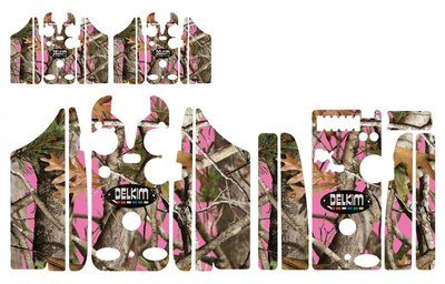 Pink ReelTree Camouflage Skinz