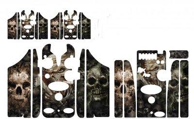 Evil skulls Delkim Skinz