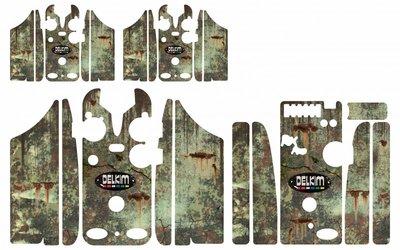 German splinter rust camouflage skins